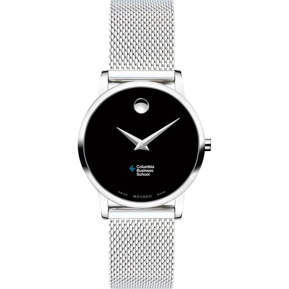 Columbia Business School Women's Movado Museum with Mesh Bracelet - Image 2