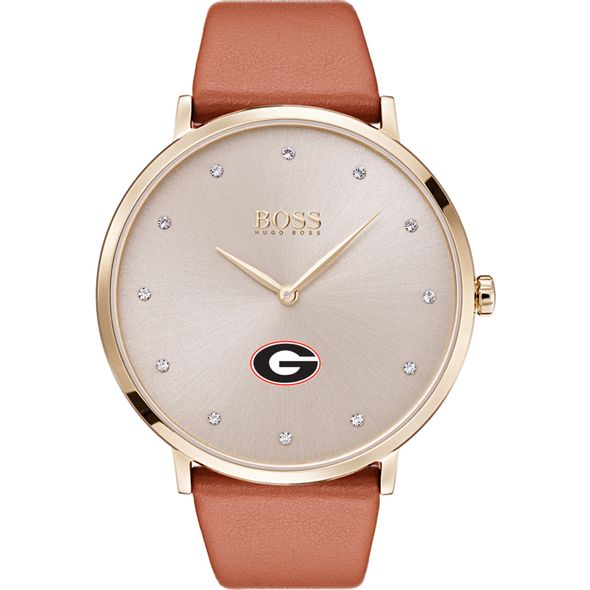 University of Georgia Women's BOSS Champagne with Leather from M.LaHart - Image 2