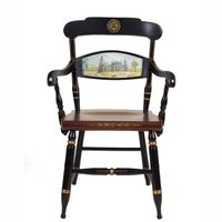 Hand-painted University of Pennsylvania Campus Chair by Hitchcock
