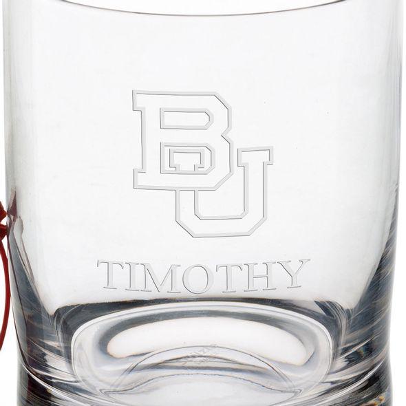 Boston University Tumbler Glasses - Set of 2 - Image 3