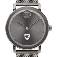Holy Cross Men's Movado BOLD Gunmetal Grey with Mesh Bracelet