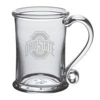 Ohio State Glass Tankard by Simon Pearce