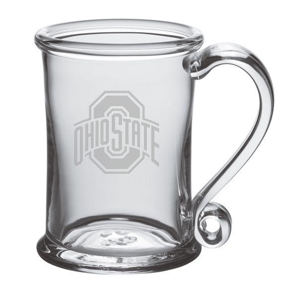 Ohio State Glass Tankard by Simon Pearce - Image 1