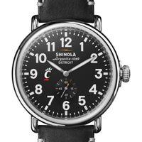 Cincinnati Shinola Watch, The Runwell 47mm Black Dial