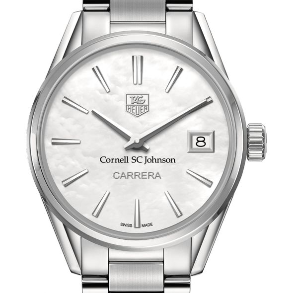 SC Johnson College Women's TAG Heuer Steel Carrera with MOP Dial