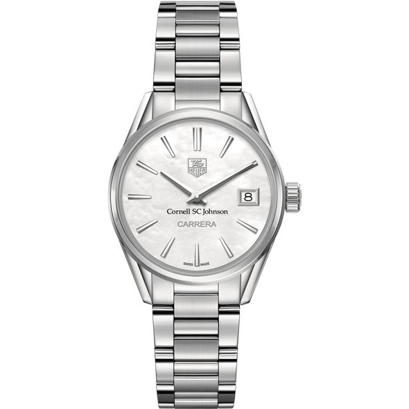 SC Johnson College Women's TAG Heuer Steel Carrera with MOP Dial - Image 2