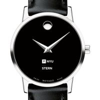 NYU Stern Women's Movado Museum with Leather Strap