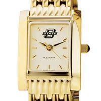 Oklahoma State University Women's Gold Quad with Bracelet
