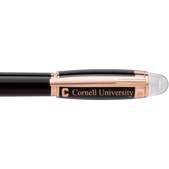 Cornell University Montblanc StarWalker Fineliner Pen in Red Gold - Image 2