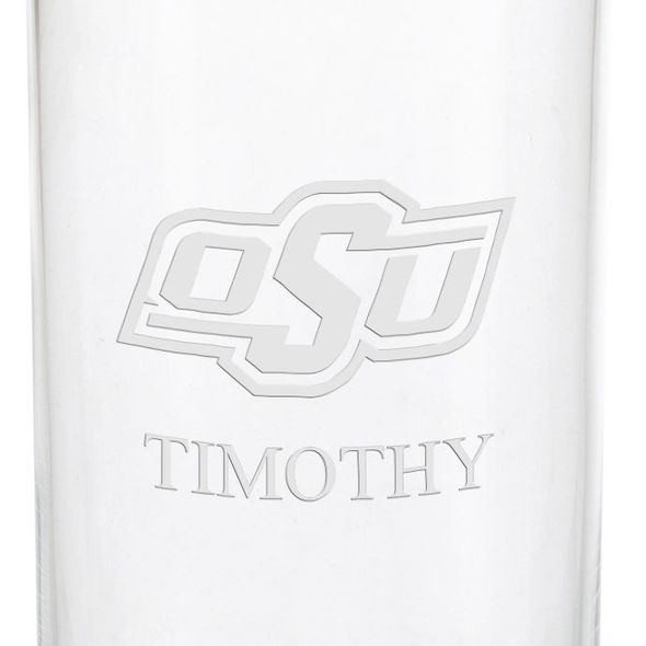 Oklahoma State University Iced Beverage Glasses - Set of 4 - Image 3