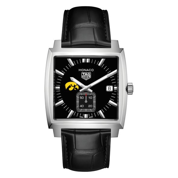 University of Iowa TAG Heuer Monaco with Quartz Movement for Men - Image 2