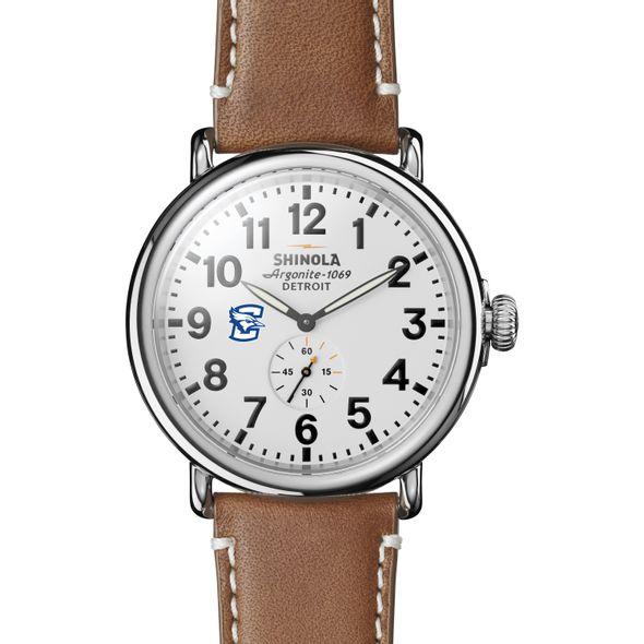 Creighton Shinola Watch, The Runwell 47mm White Dial - Image 2
