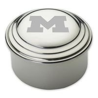Michigan Pewter Keepsake Box