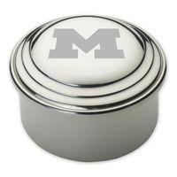 Michigan Pewter Keepsake Box