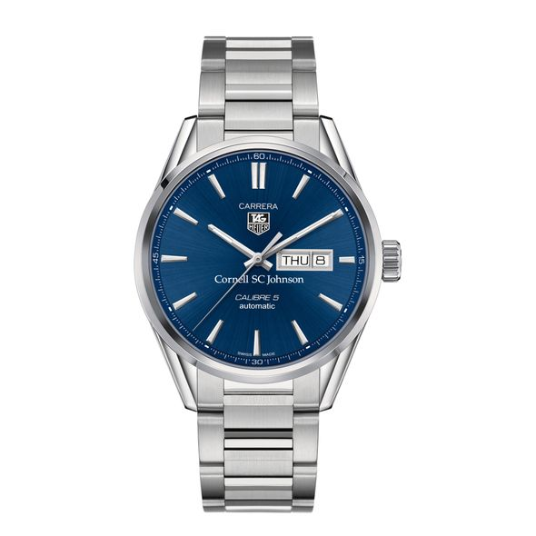 SC Johnson College Men's TAG Heuer Carrera with Day-Date - Image 2