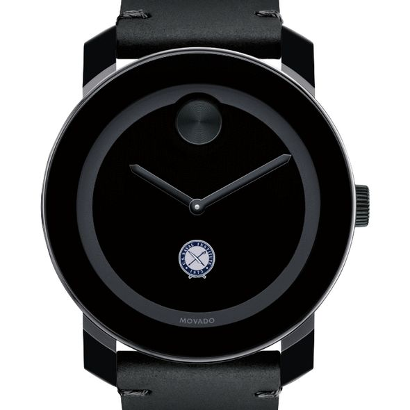 U.S. Naval Institute Men's Movado BOLD with Leather Strap