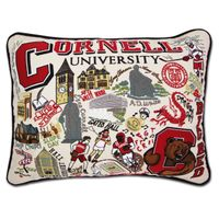 Cornell Embroidered Pillow