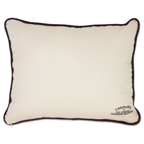 Cornell Embroidered Pillow - Image 2