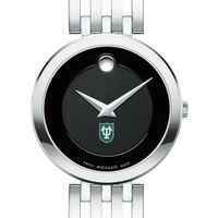 Tulane University Women's Movado Esparanza Stainless Steel Museum with Bracelet