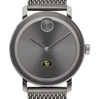 University of Colorado Men's Movado BOLD Gunmetal Grey with Mesh Bracelet