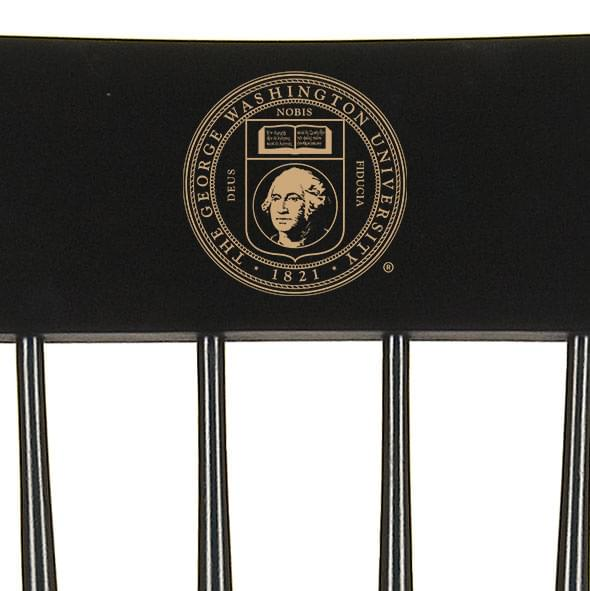 George Washington University Captain's Chair by Hitchcock - Image 2