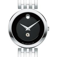 Georgetown University Women's Movado Esparanza Stainless Steel Museum with Bracelet