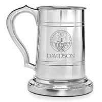 Davidson College Pewter Stein