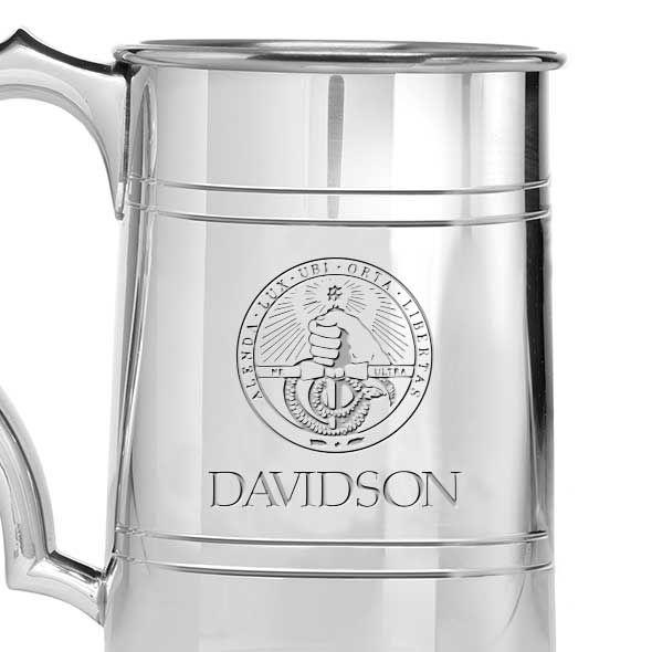 Davidson College Pewter Stein - Image 2