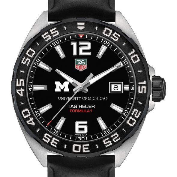 University of Michigan Men's TAG Heuer Formula 1 with Black Dial