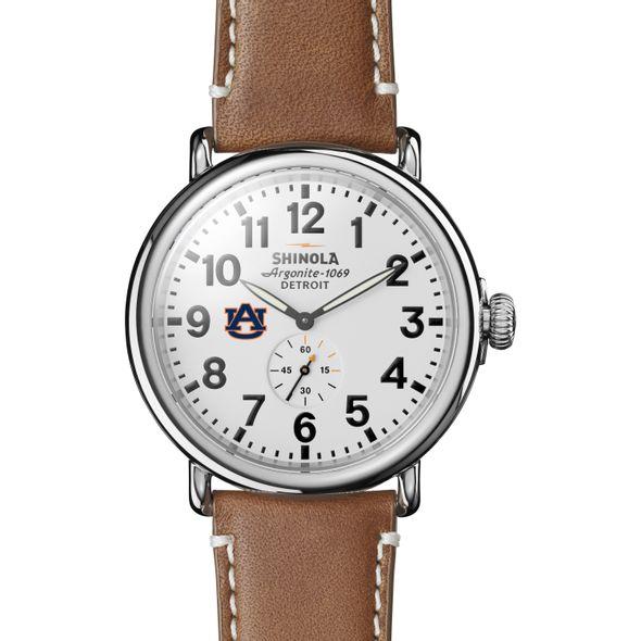 Auburn Shinola Watch, The Runwell 47mm White Dial - Image 2