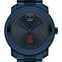 Elon University Men's Movado BOLD Blue Ion with Bracelet