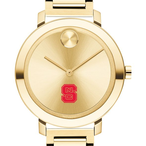 North Carolina State Women's Movado Gold Bold 34
