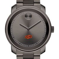 Oklahoma State University Men's Movado BOLD Gunmetal Grey