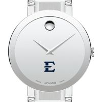 East Tennessee State University Men's Movado Sapphire Museum with Bracelet