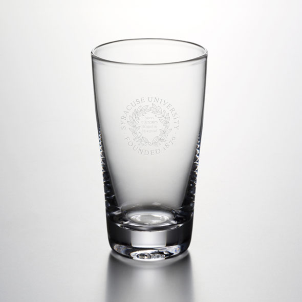 Syracuse University Ascutney Pint Glass by Simon Pearce