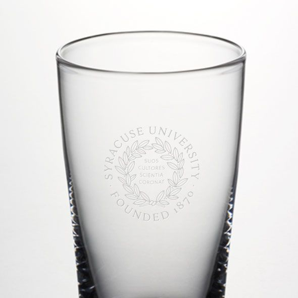Syracuse University Ascutney Pint Glass by Simon Pearce - Image 2