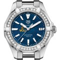 VCU Women's TAG Heuer 35mm Steel Aquaracer with Blue Dial - Image 1