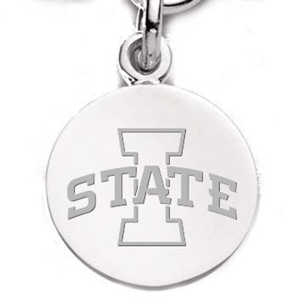 Iowa State University Sterling Silver Charm - Image 1