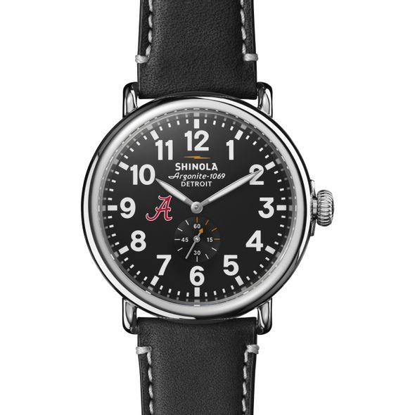Alabama Shinola Watch, The Runwell 47mm Black Dial - Image 2