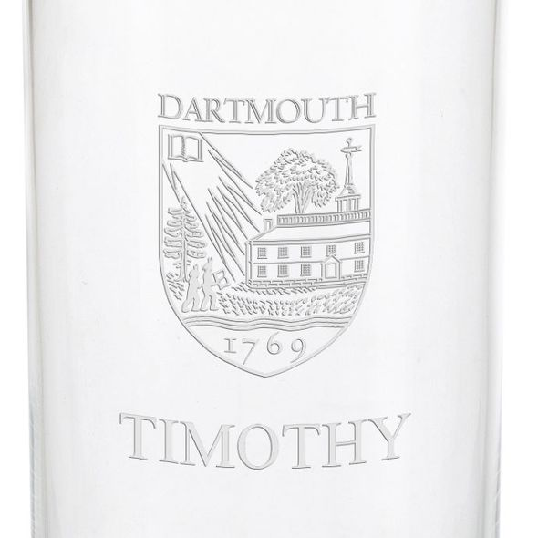 Dartmouth College Iced Beverage Glasses - Set of 4 - Image 3