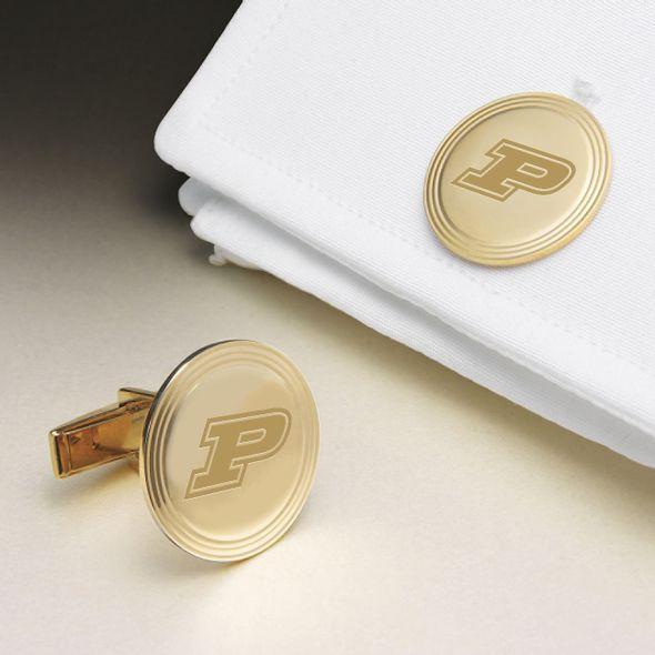 Purdue University 18K Gold Cufflinks