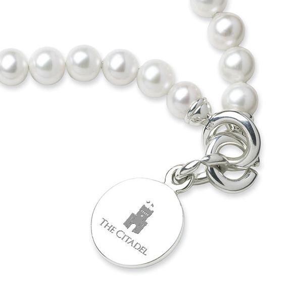Citadel Pearl Bracelet with Sterling Charm - Image 2