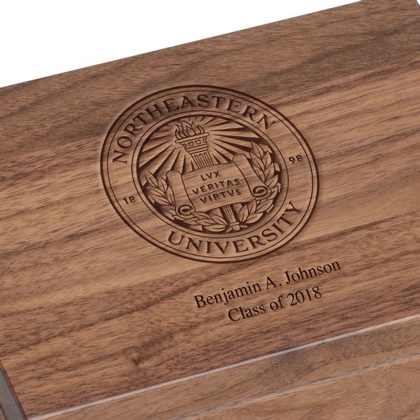 Northeastern Solid Walnut Desk Box - Image 3