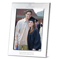 Duke Polished Pewter 5x7 Picture Frame
