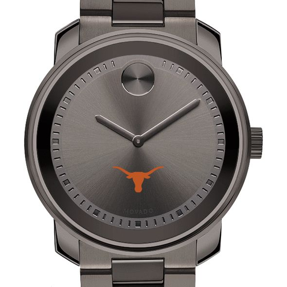 University of Texas Men's Movado BOLD Gunmetal Grey