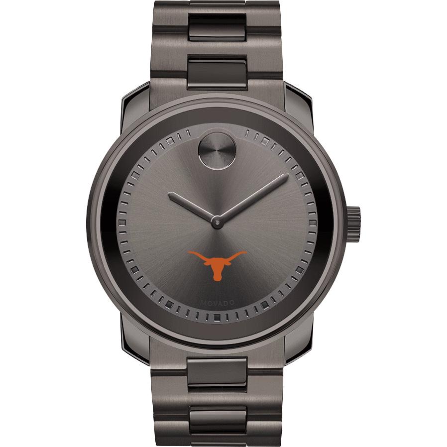 Texas Men's Movado BOLD Gunmetal Grey - Image 2