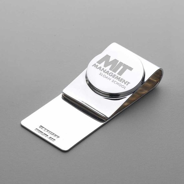MIT Sloan Sterling Silver Money Clip - Image 1