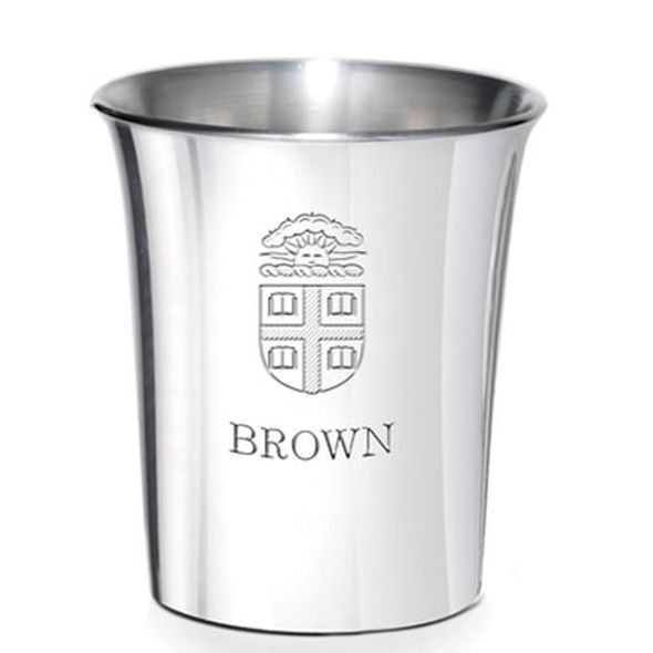 Brown Pewter Jigger