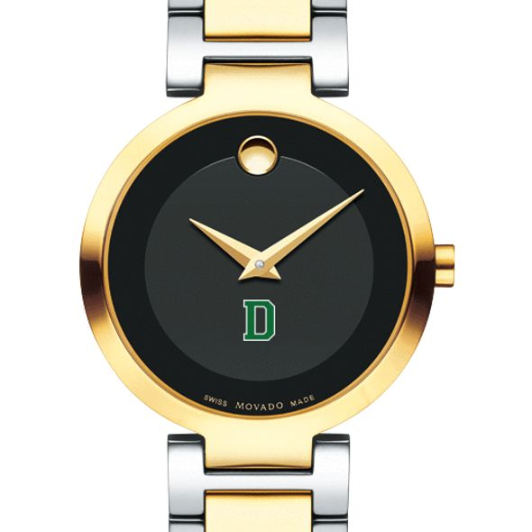 Dartmouth College Women's Movado Two-Tone Modern Classic Museum with Bracelet