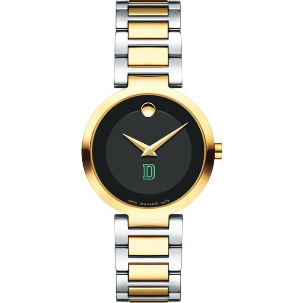 Dartmouth College Women's Movado Two-Tone Modern Classic Museum with Bracelet - Image 2
